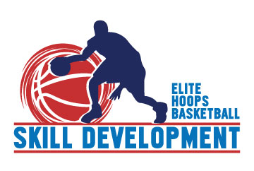 Elite Hoops Basketball Skills Logo